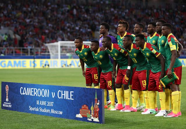 Formación de Camerún ante Chile, Copa Confederaciones 2017, 18 de junio