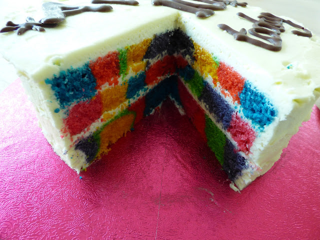 3 Layer Rainbow Cake Tye Tie Dye uk