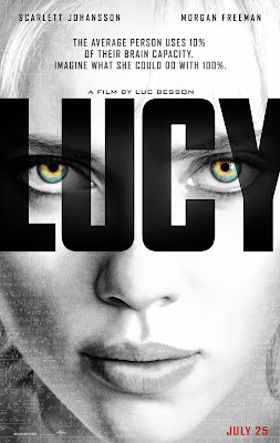 Lucy poster Luc Besson