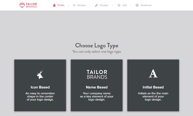 pembuat logo tailor brands logo maker