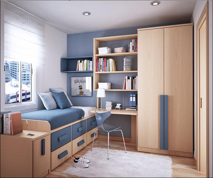 Key Interiors by Shinay: Modern Design for Teenage Boys on Small Teen Bedroom Ideas  id=96371