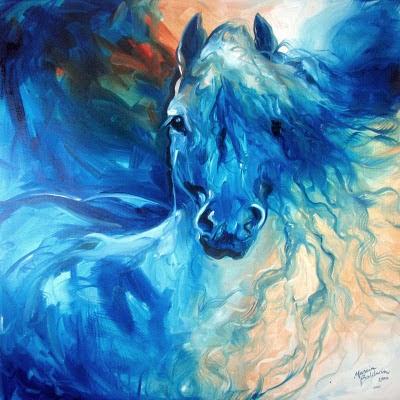 Pintura de caballo