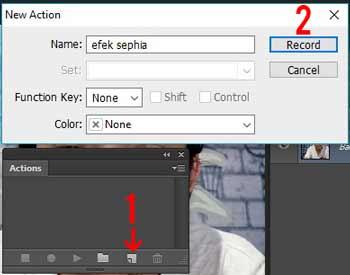 maka pekerjaan desain kalian menjadi lebih cepat dan mudah Cara Membuat Action Photoshop Sendiri Untuk Pemula