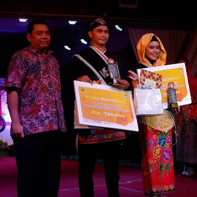 Cara Dapet Gelar Mas atau Mbak Multimedia saat Pemilihan Mas dan Mbak Duta Wisata Kabupaten Pekalongan Tahun 2018