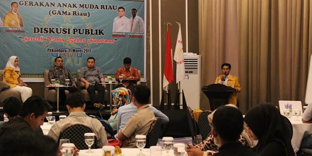 GAMa Riau Hadirkan Pakar untuk Berikan Pencerahan Soal Polemik di Masyarakat Pasca Vonis Bebas Suparman