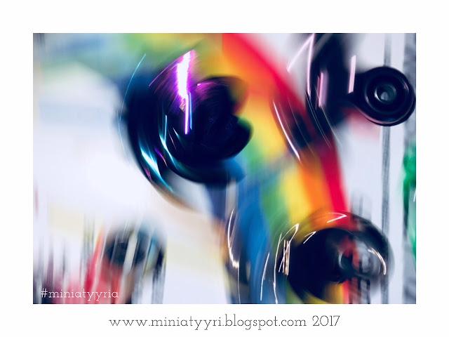 Valokuvamaalaus spinnerillä