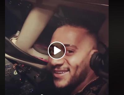 قيادة محمد رمضان لطائرة, الطران, توقف الطيار, مساعد الطيار, تفاصيل جديدة,