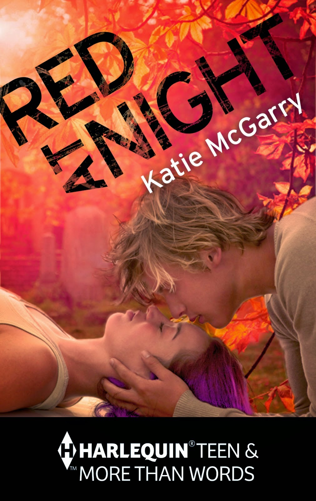 Red at Night by Katie McGarry book cover