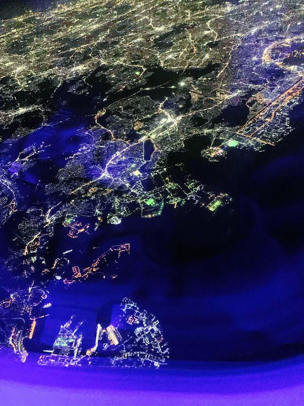 幻想的な夜のフライト / 31レグ 東京(羽田) →沖縄(那覇) / JAL925【2019年の搭乗メモ】