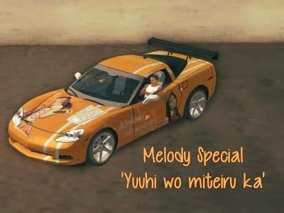 Arya ghandi Blog: Mobil JKT48 Melody Yuhii wo miteiru ka