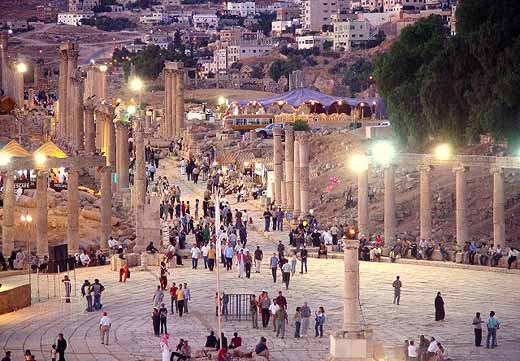 The Jerash Festival in Jordan