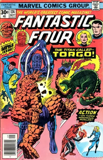 Fantastic Four #174, Torgo is back