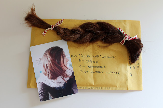 come donare i capelli esperienza mecreativeinside