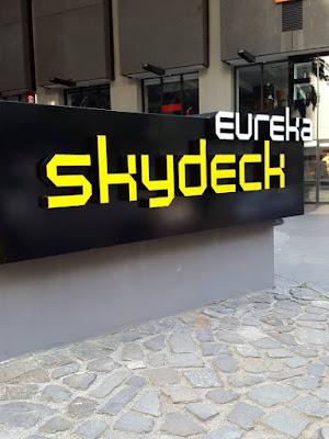 Eureka Skydeck in Melbourne Southbank