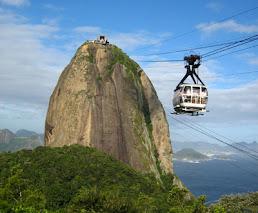 Sugar Loaf Mountain, Rio de Janeiro, Brasil.