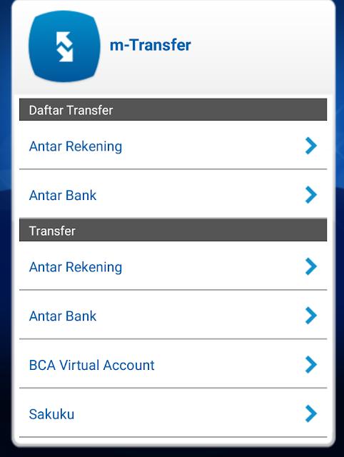 Cara Isi Saldo Grabpay di Mobile Banking BCA