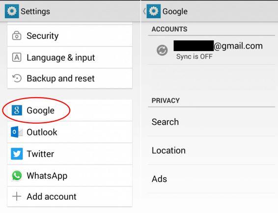 cara mengganti akun Google Play