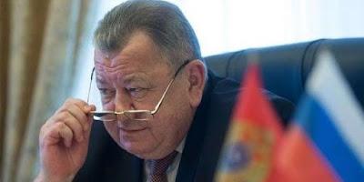 نائب وزير الخارجية الروسي أوليج صيرومولوتوف