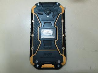 Hape Outdoor Rusak Landrover X8 Octacore RAM 2GB Untuk Kanibalan