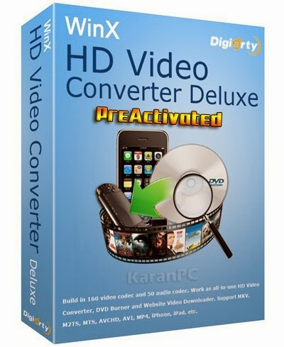 WinX HD Video Converter Deluxe 5.5.3 + Key