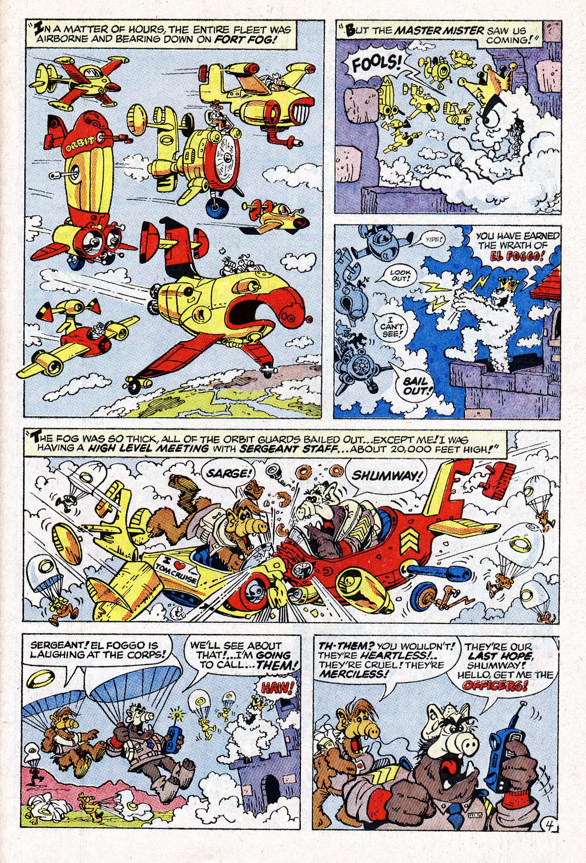 Read online ALF comic -  Issue #1 - 21