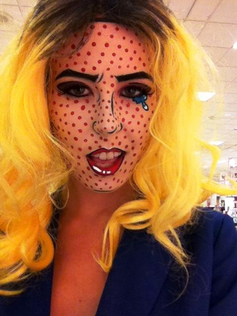 Happy Halloween Day: 15 Comic Book Halloween Makeup Ideas