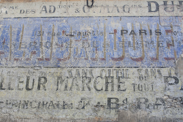 vintage advertisement, France