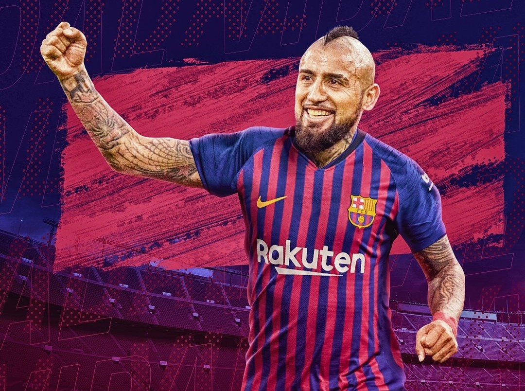 Jarang Dimainkan di Barcelona, Arturo Vidal Mengaku Tak Bahagia