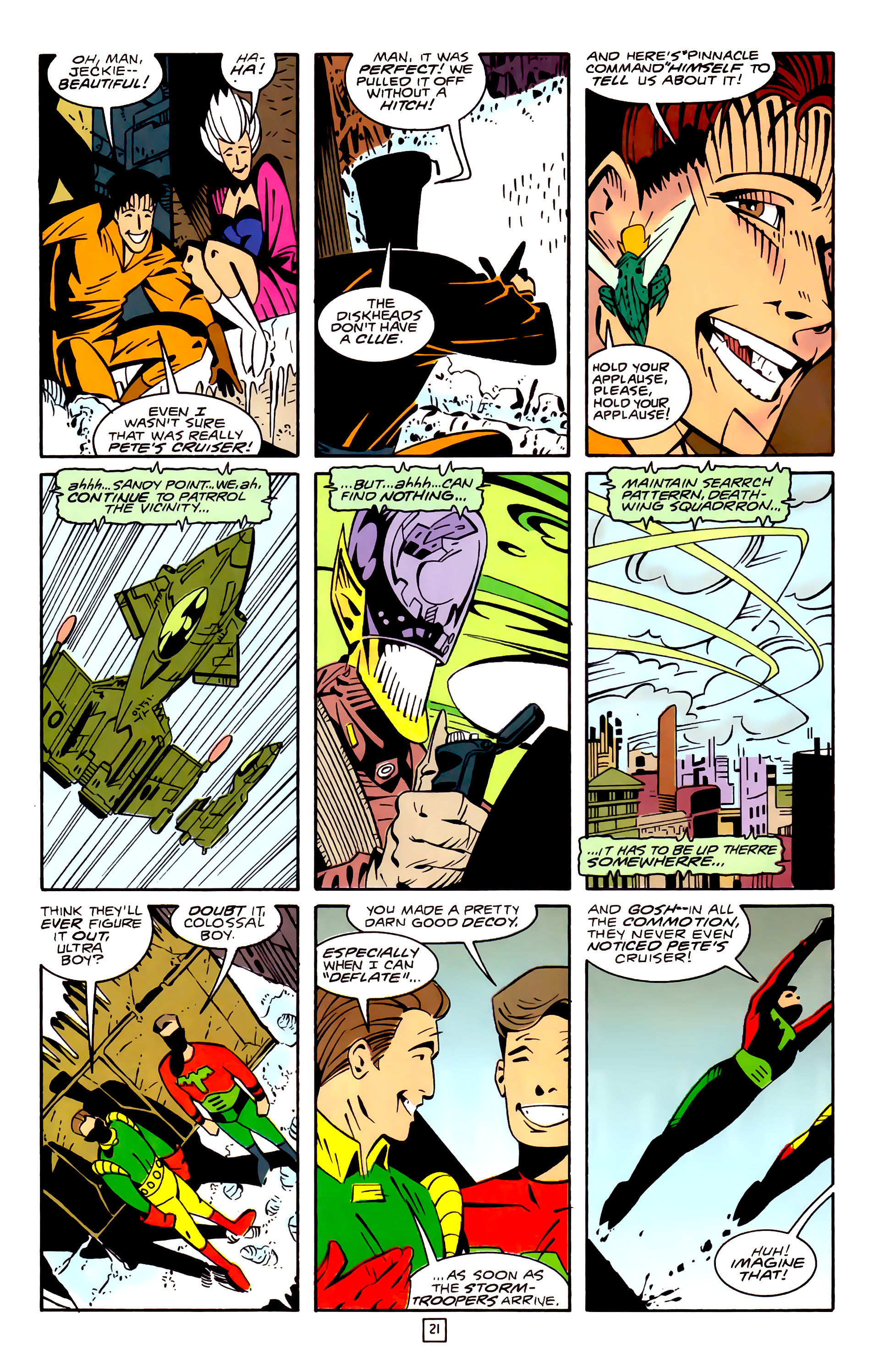 Legion of Super-Heroes (1989) 32 Page 21