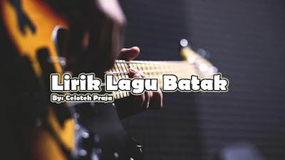 Lirik Lagu Unang Salahon Au Dang Holan Hata-Hata Godang Gulut Di Arta |Cipt. Anton Siallagan