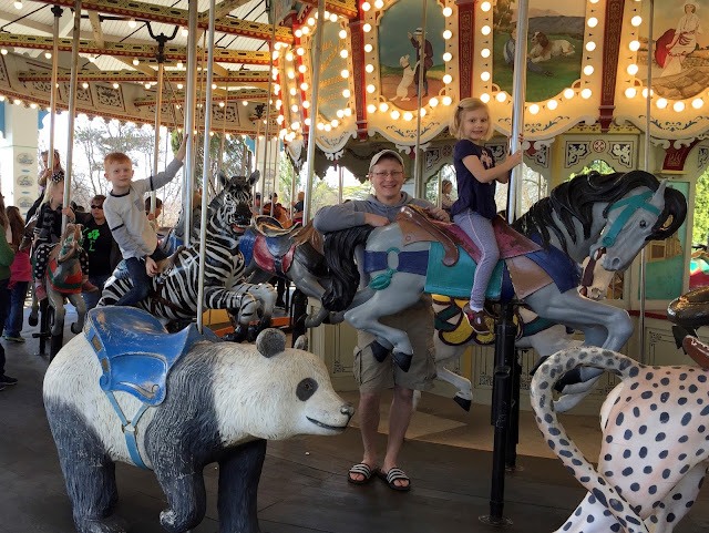 Carousel Ride at the Louisville Zoo