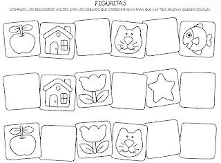 Atividades de completar desenhos