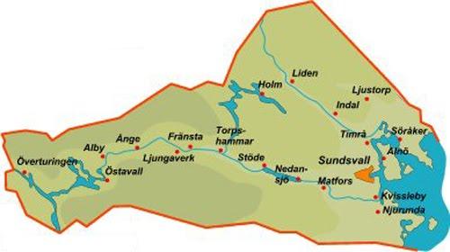 medelpad karta Karta över medelpad Regionen | Karta över Sverige, Geografisk  medelpad karta