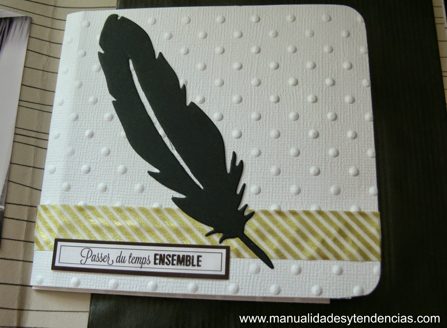 desplegable mini álbum scrapbooking
