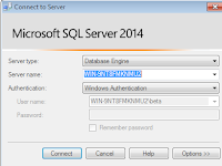 Import and Restore Bak File Microsoft SQL Server 2014