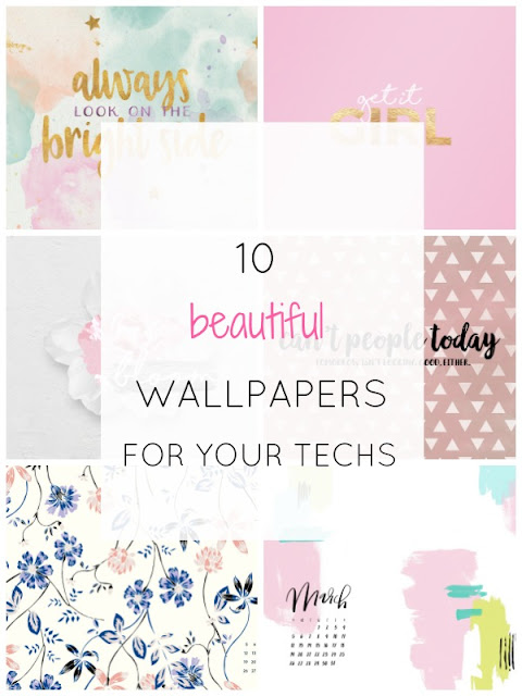 10 cute feminine wallpapers to dress up your tech - Ioanna's Notebook