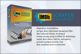IMDB Scraper & Autopost