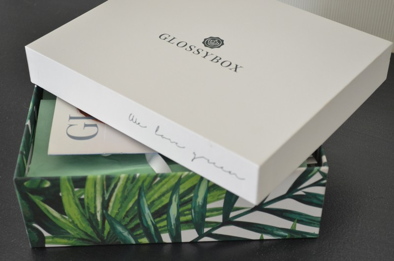Glossybox Avril 2017 | We Love Green