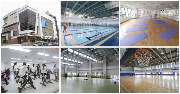 《台中.南屯》南屯國民運動中心|游泳池|健身房|韻律教室|羽球場|桌球室|籃球場