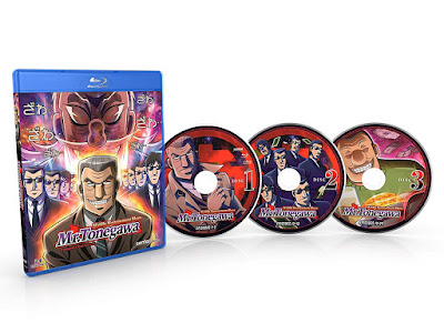 Mr Tonegawa Middle Management Blues Complete Collection Bluray Discs