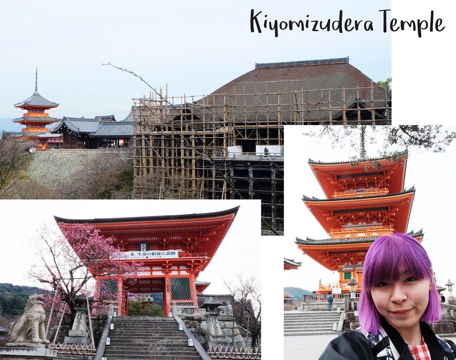 One Day 6 places Kyoto Kiyomizudera | www.bigdreamerblog.com