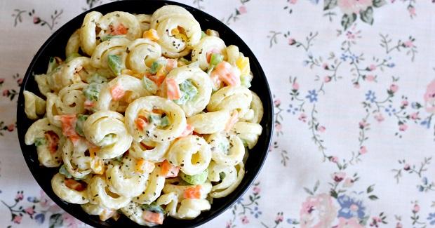 Creamy Veggie Pasta Salad Recipe