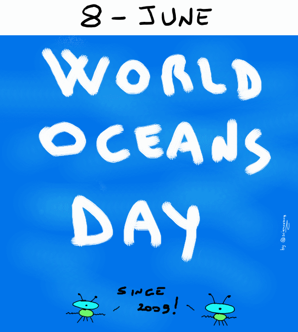 8-Jun: world oceans day (by sciencemug)