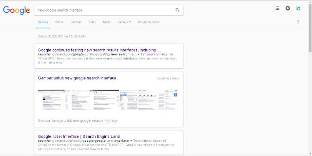 Catatan Ikrom Tampilan Terbaru Website Google Search 2