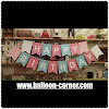 Bunting Flag Segilima HAPPY BIRTHDAY Warna Pastel (NEW COLOUR)