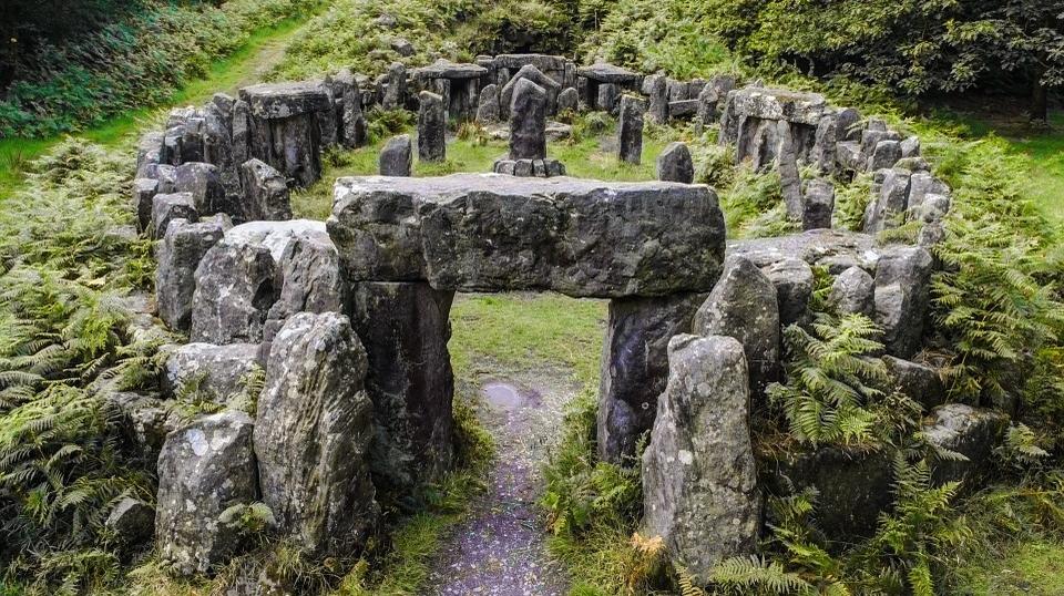 Ancient Druidic historical site