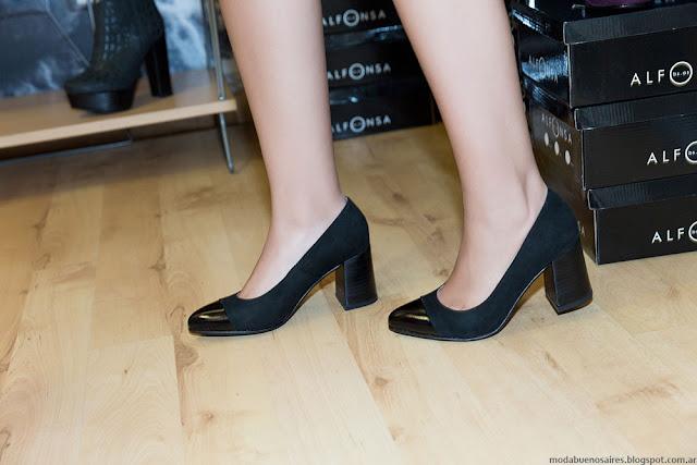 Zapatos comodos y elegante Alfonsa otoño invierno 2016.