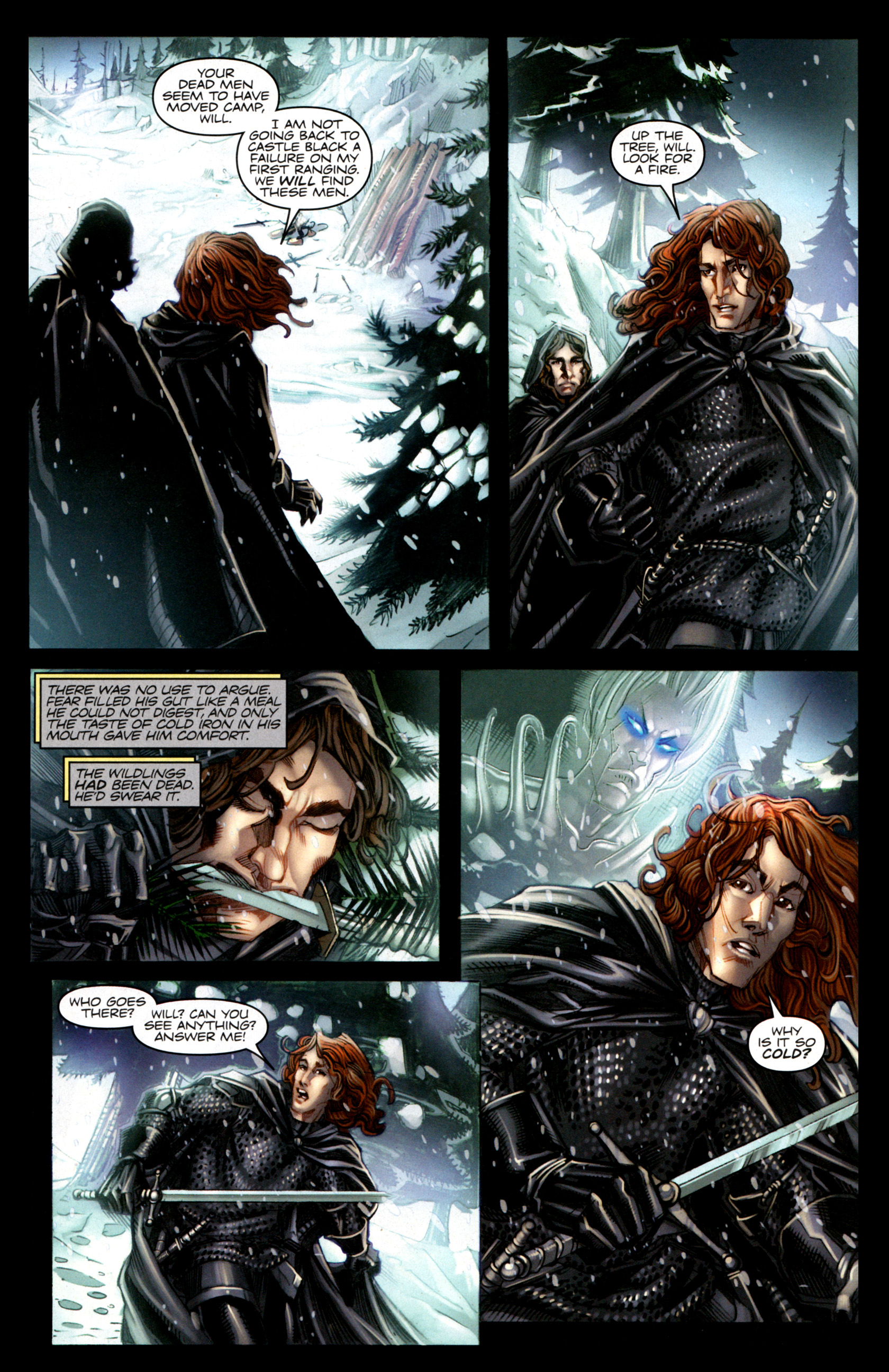 Read online A Game Of Thrones comic -  Issue #1 - 5
