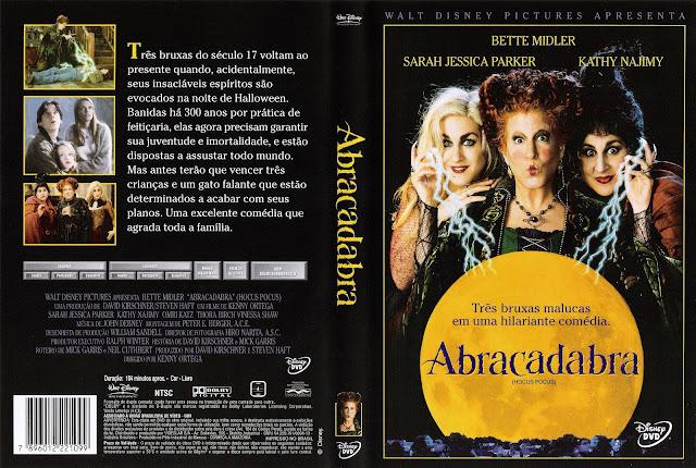 Capa DVD Abracadabra