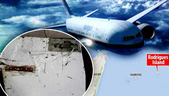 Serpihan Sayap Di Mauritius Sah Milik MH370 - Penyiasat Australia